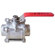 不锈钢三片式短焊接球阀FS313S